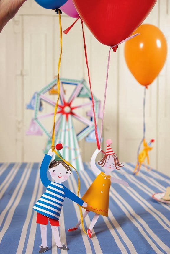Balloon Party Decorations for Children's Birthday.