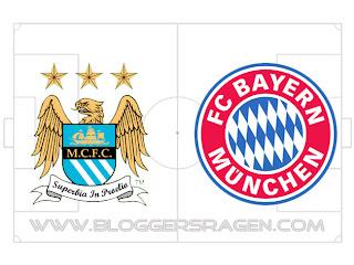 Prediksi Pertandingan Bayern Munchen vs Manchester City