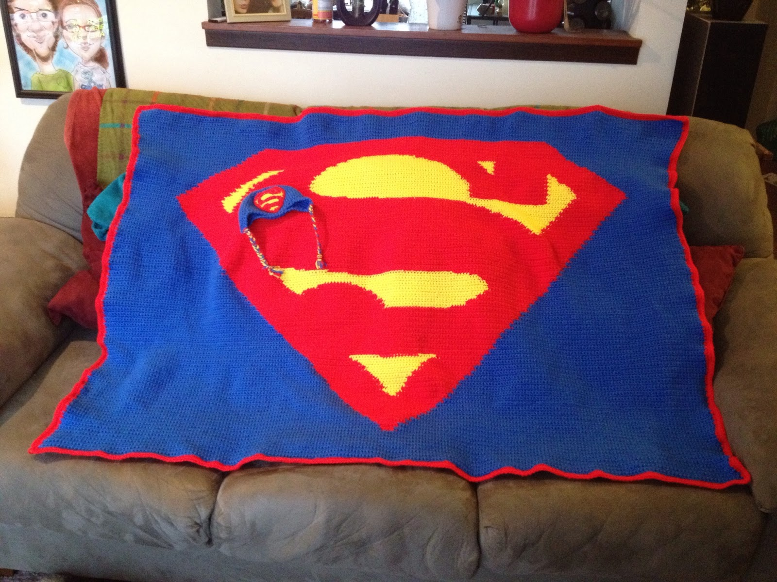 Fancy Superman Crochet Hat Pattern Composition - Easy Scarf Knitting ...