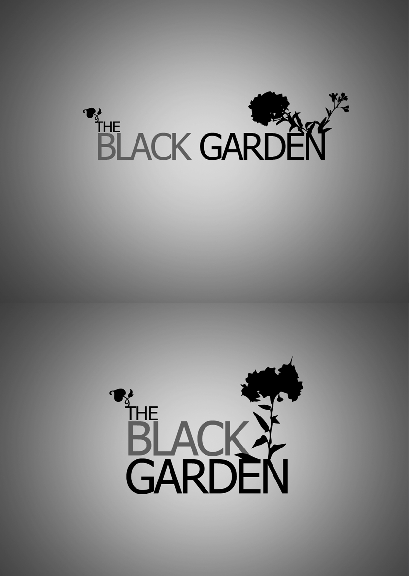 the black garden logo