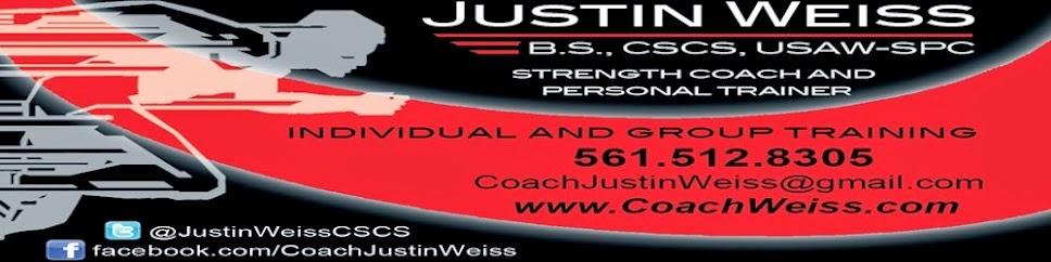 Justin Weiss RSCC/CSCS