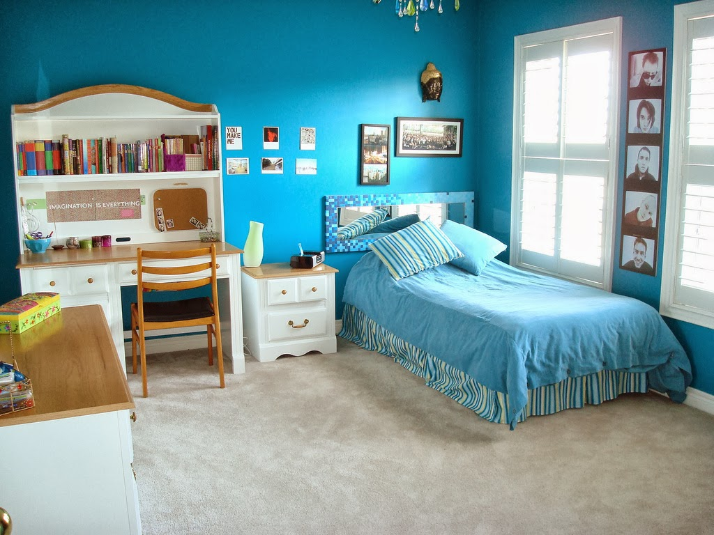 Teenage Bedrooms Will Look Innovative, Cool And Have Styles Which Can Be  Enjoyable. Simple Colors For Furnishings Are Perfect ...