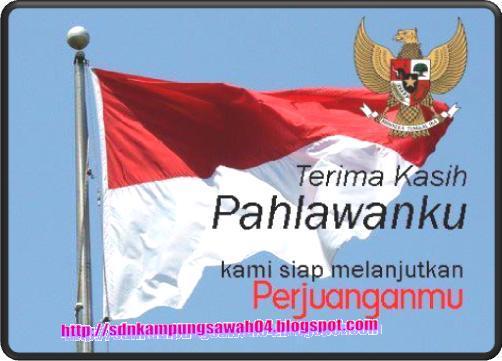 SDN Medangasem III - Karawang, Nama-nama Pahlawan Nasional Indonesia