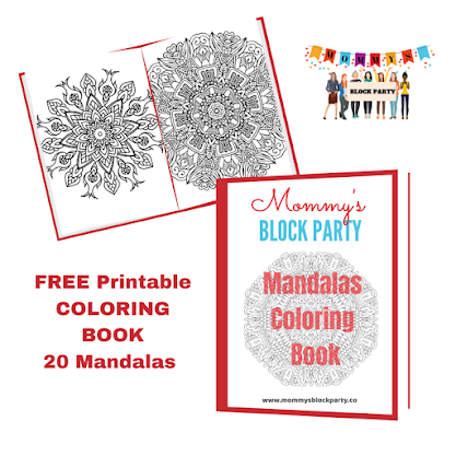 FREEBIE!- 20 Page Mandalas Coloring Book