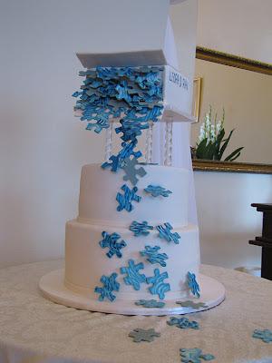 Cake Decorating Blog: A puzzling cake