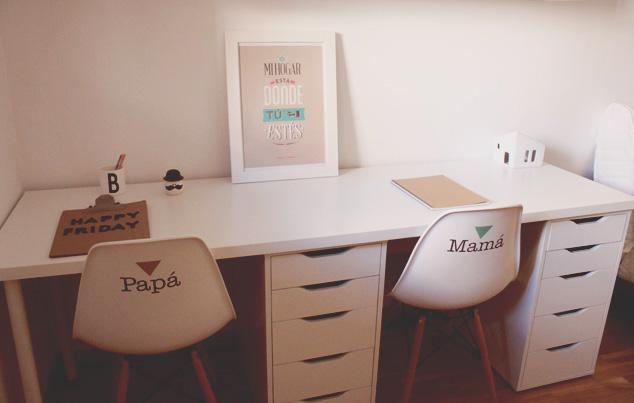 De lunares y naranjas mi rcoles de arquitectura cuatro - Decorar un despacho en casa ...
