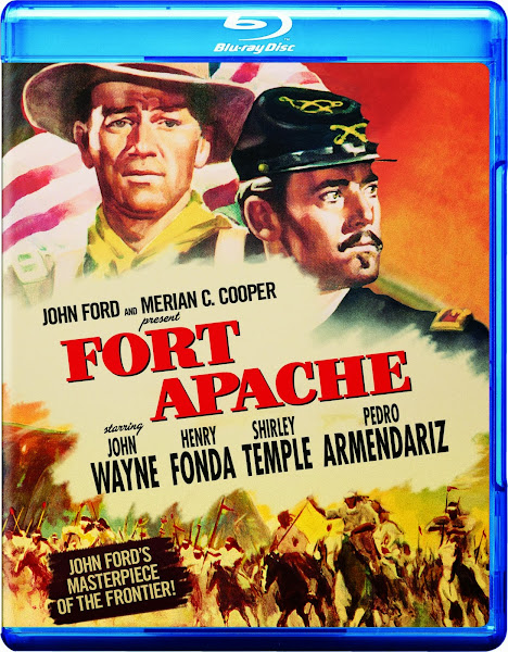 Cover, caratula, dvd:  Fort Apache | 1948