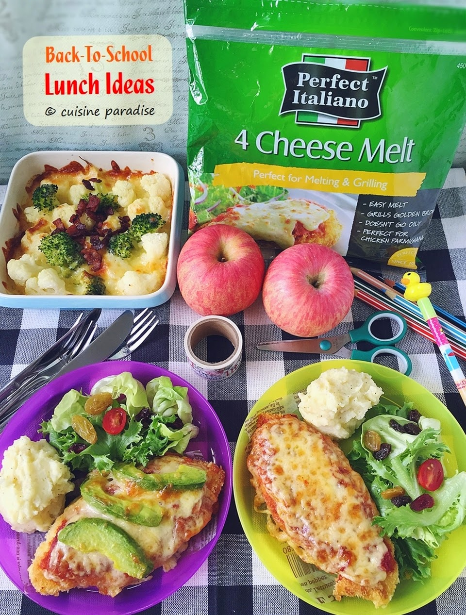 ... ] Back To School Lunch Ideas With Perfect Italiano 4 Cheese Melt