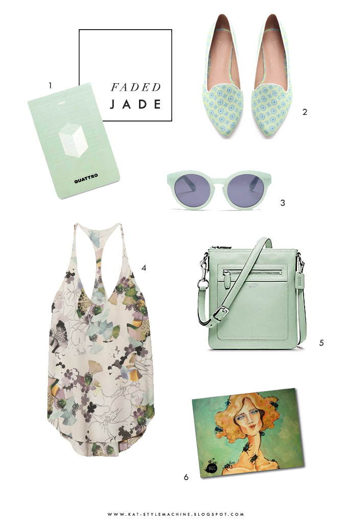 stylish fashion favorites featuring florals, mint, green, grey, and fog for spring