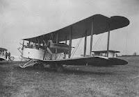 Vickers Vimy aeroplano