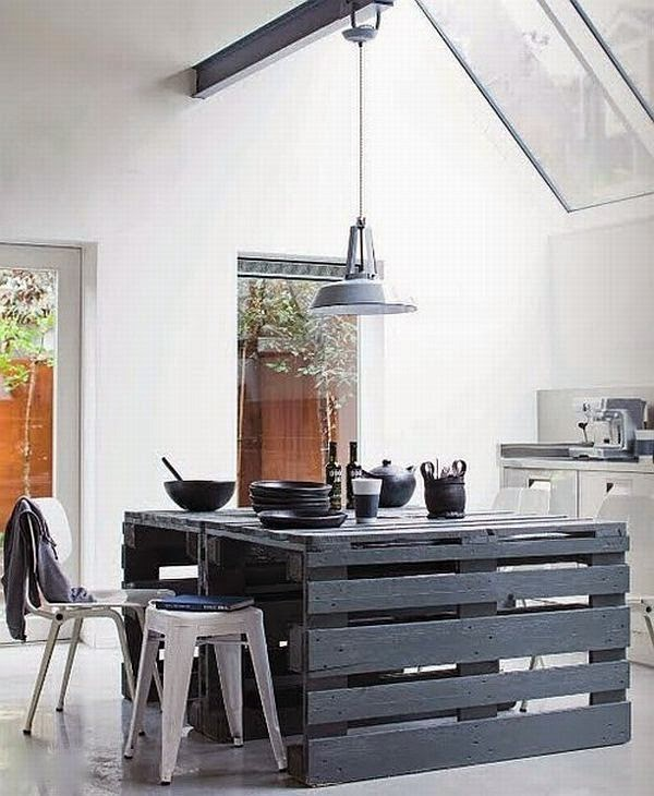 15 muebles que puedes crear con palets reciclados Casas  - fotos de muebles de palets reciclados