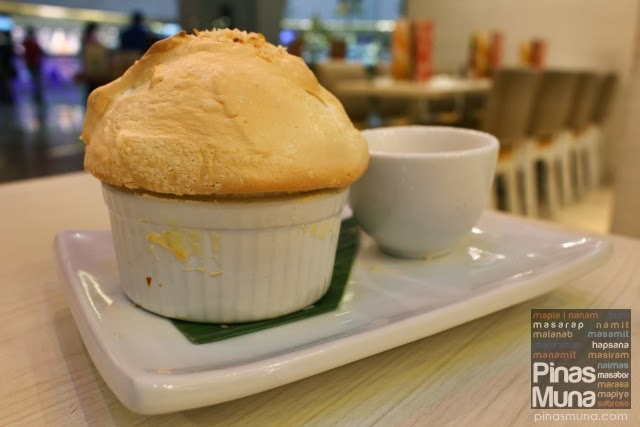 Bibingka Soufflé by C2 Classic Cuisine