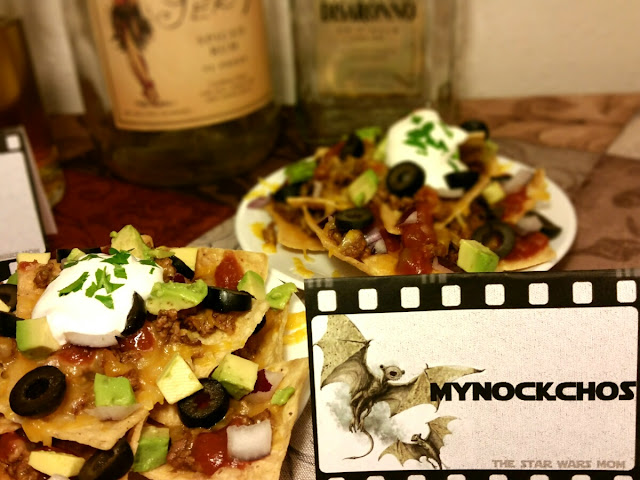 Star Wars Party Food Label - MyNockchos - My Nachos - Free Printable