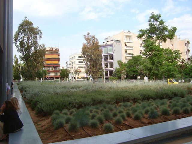 green roof στον Ταυρο κτηριο EUROBANK CARDS