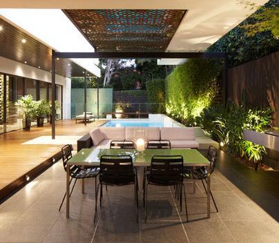 Fotos de terrazas terrazas y jardines terrazas de casas for Fachadas para terrazas de casas