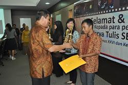 Juara LKTI Tingkat Mahasiswa