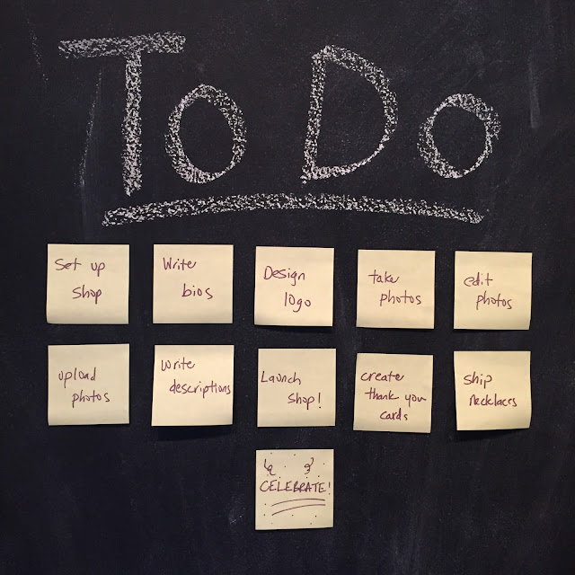 To-Do List Closeup