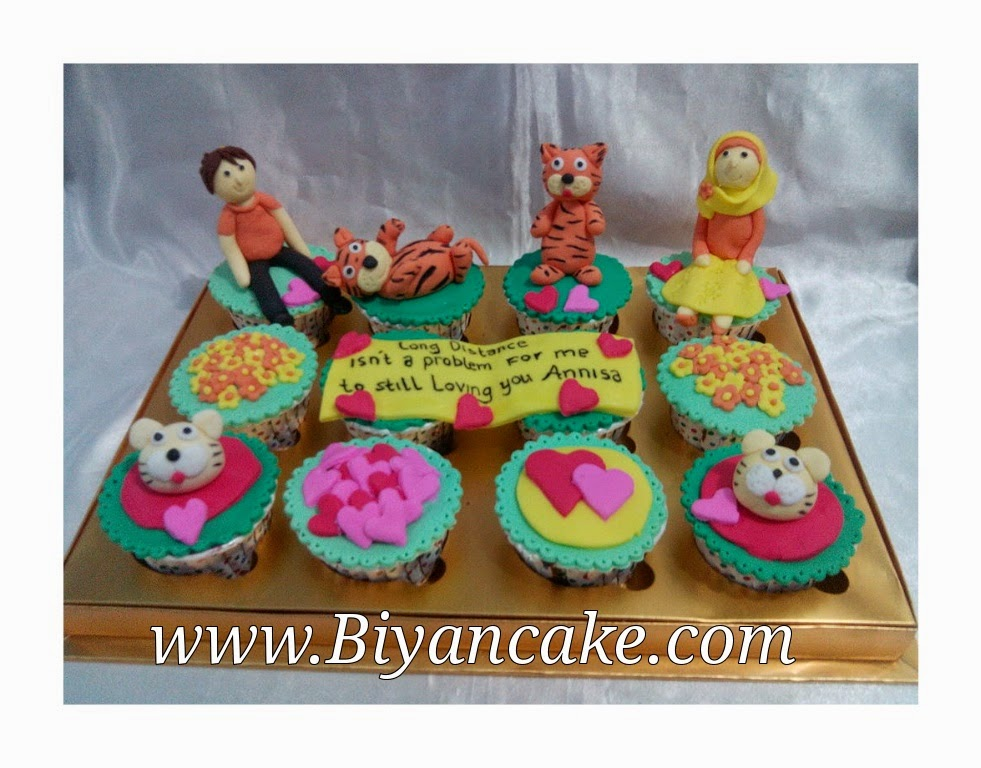 cupcake kucing ~ Imam