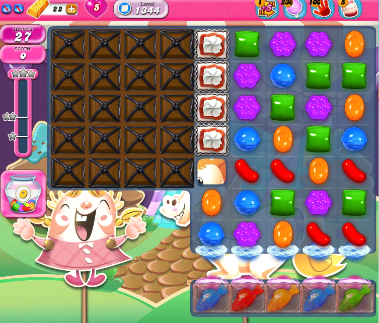 Candy Crush Saga 1344