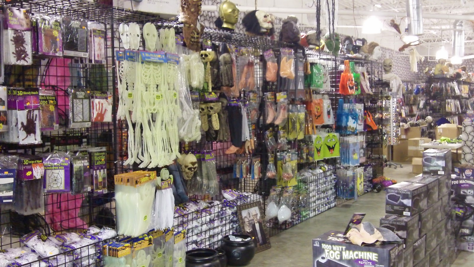an ode to the seasonal halloween supply store - Halloween Supply Store