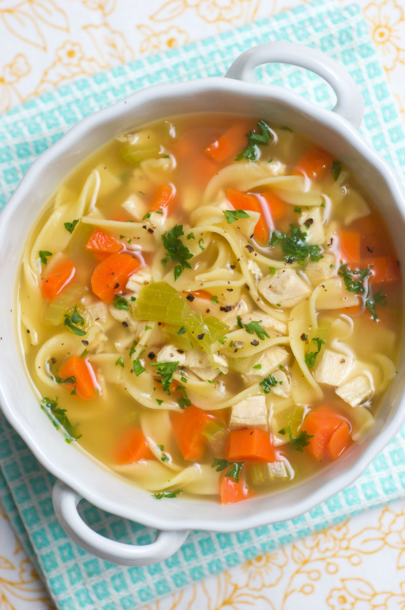 Sugar & Spice by Celeste: Chicken (or Turkey) Noodle Soup ...