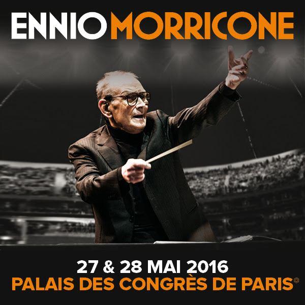 Ennio Morricone en concert à Paris