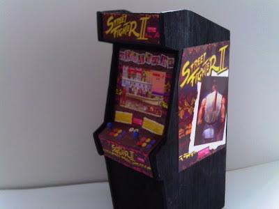 retro fighter ii scale arcade model