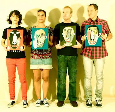 The Yellow Melodies grupo banda 2013