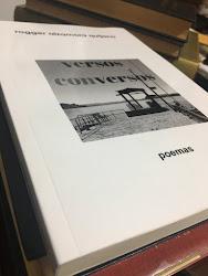 """¡NUEVO! MI LIBRO """"versos conversos"""", Poemas, selección del autor, 236 páginas"""