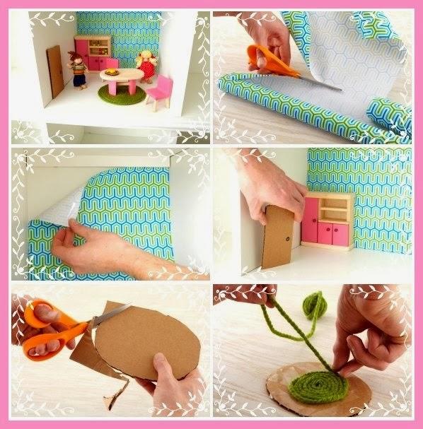 Hacer en casa una casa de mu ecas barata y bonita qu - Manualidades para hacer en casa faciles ...