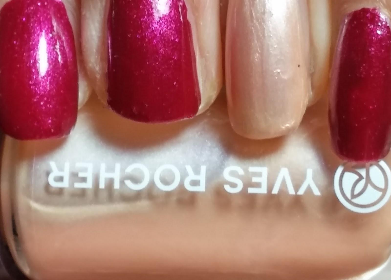 Yves Rocher holiday nail polish | haligonia.ca