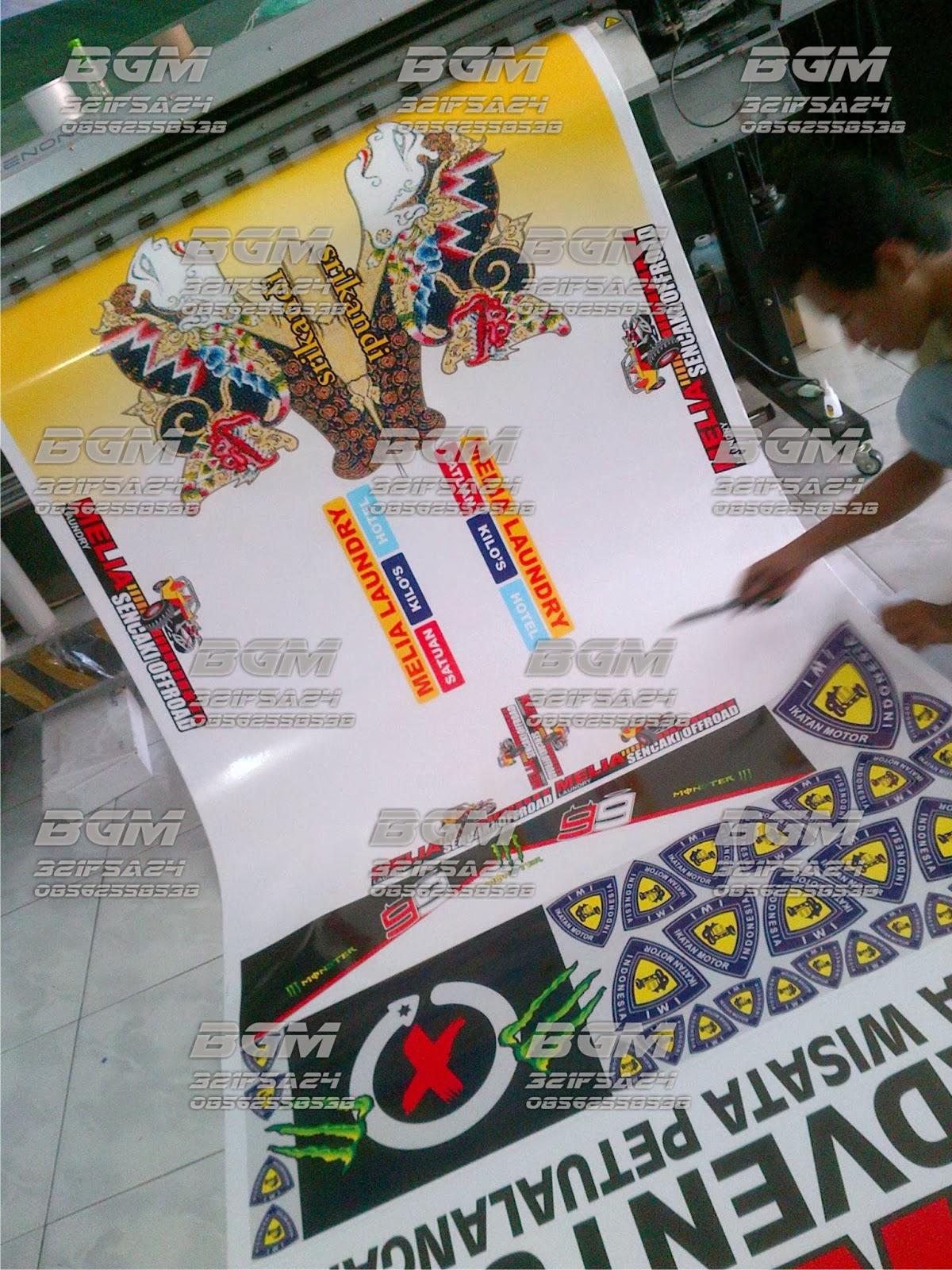 Stiker IMI Ikatan Motor Indonesia Yogyakarta