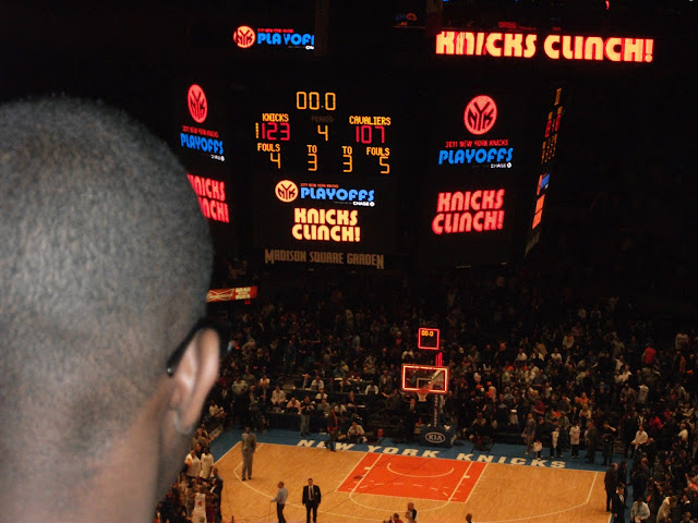 madison square garden match knicks baloncesto new york
