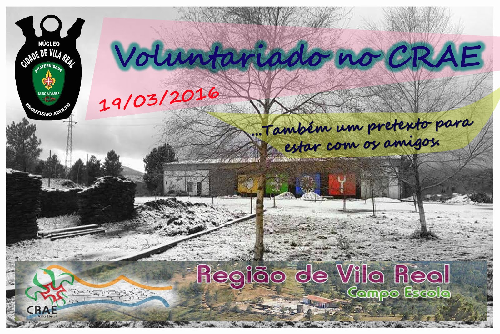 Voluntariado no CRAE