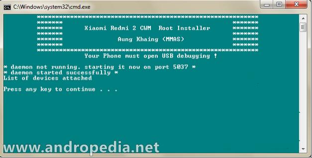 Cara Root Xiaomi Redmi 2