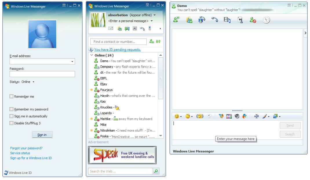 Windows live messenger mobile download nokia