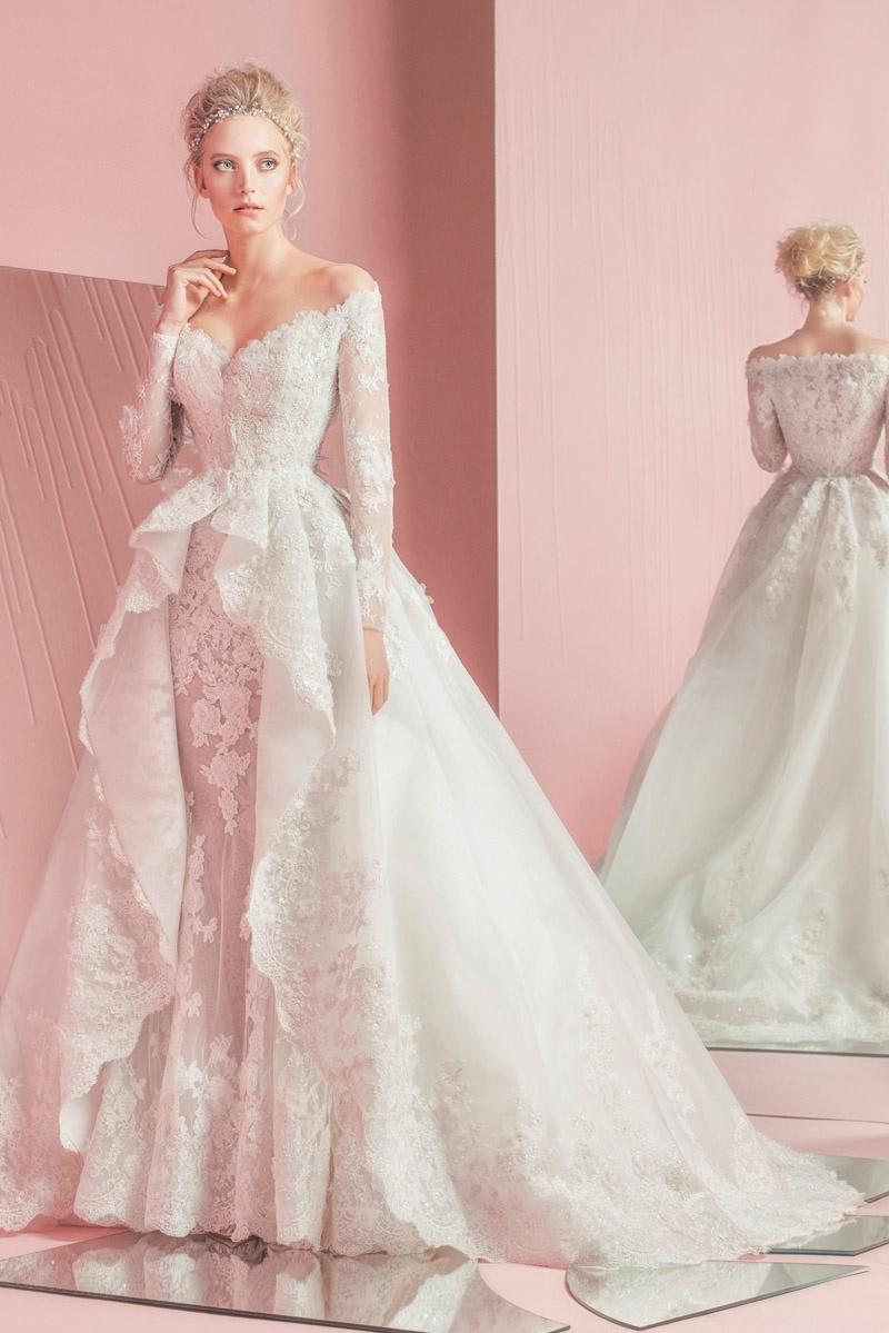 Zuhair Murad sigue fiel al glamour en su nueva colección de novias ...