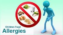 list types of food allergies in adults