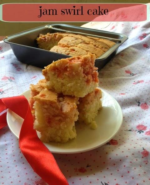 mixed fruit jam cake 1