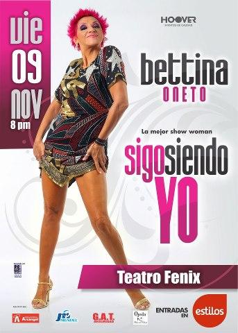 Bettina Oneto en Arequipa (09 nov)