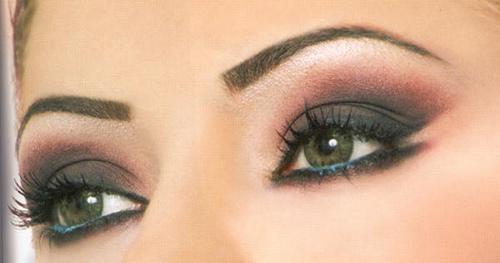 The most glamorous eye makeup 2013