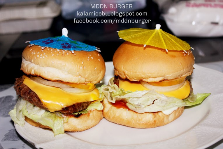 MDDN Burgers, Best Burger Delivery in Cebu