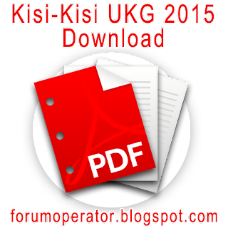 Download Kisi-Kisi UKG 2015 Lengkap RAR