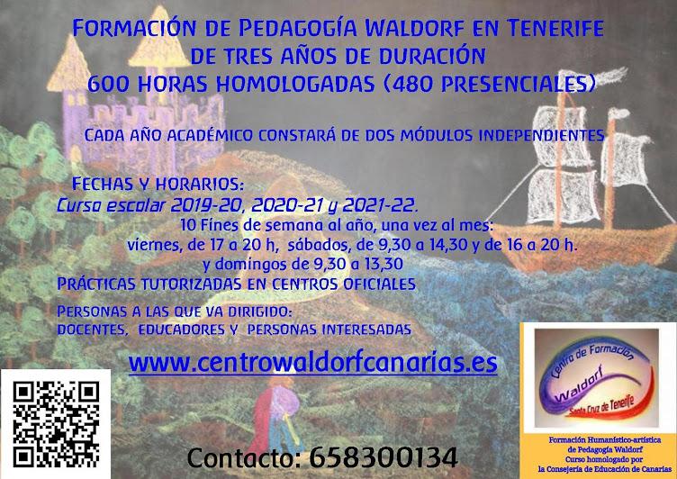 FORMACIÓN WALDORF ACREDITADA Y HOMOLOGADA EN TENERIFE