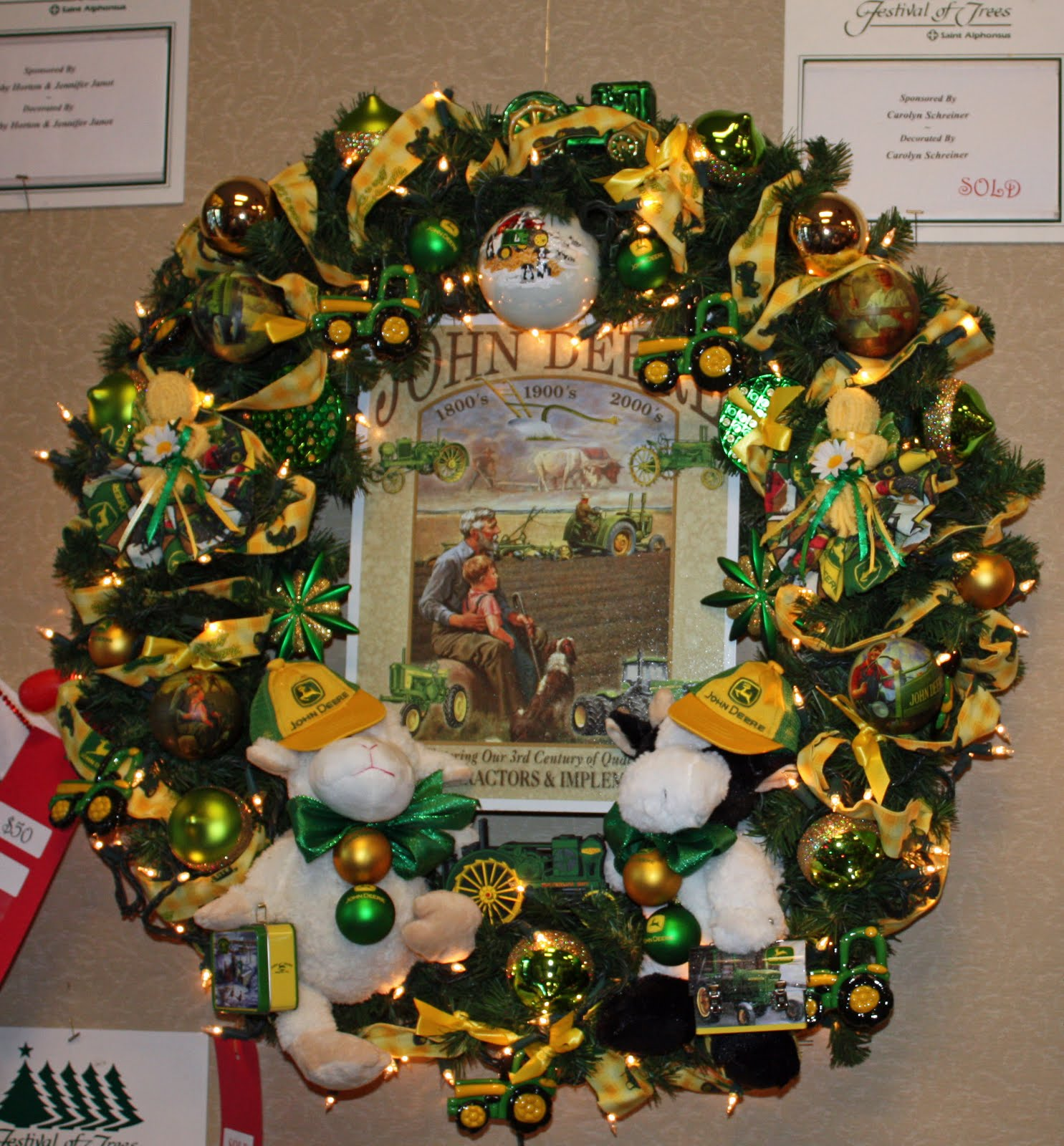 Boise Daily Photo: Nothing Says Christmas Like a John Deere