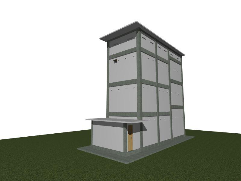 Desain Rumah Walet Satu Lantai