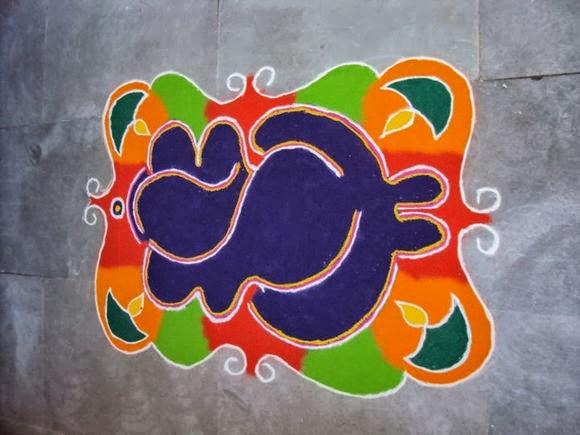 ganesha images for rangoli - photo #17