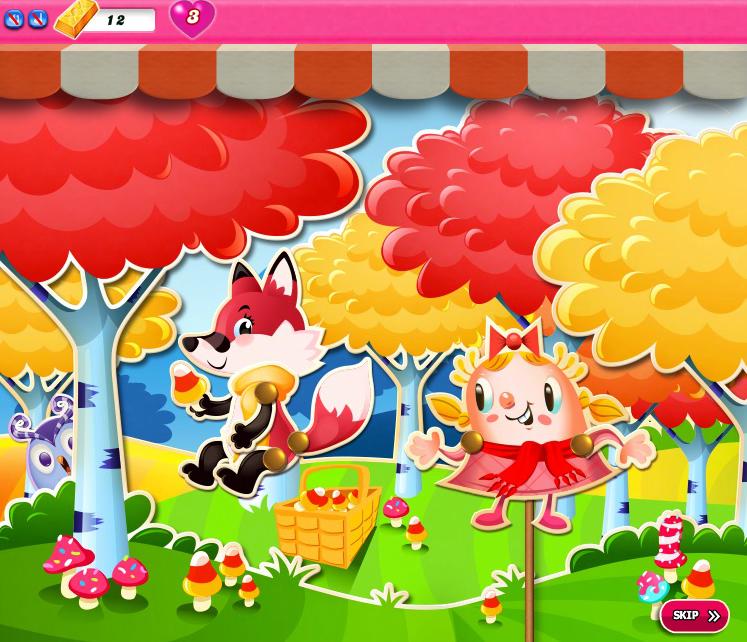 Candy Crush Saga 1191-1205
