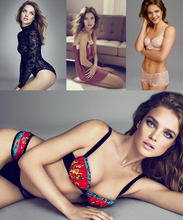 Para sempre Vodianova_Natalia Vodianova_campanha_etam_lingerie_underwear