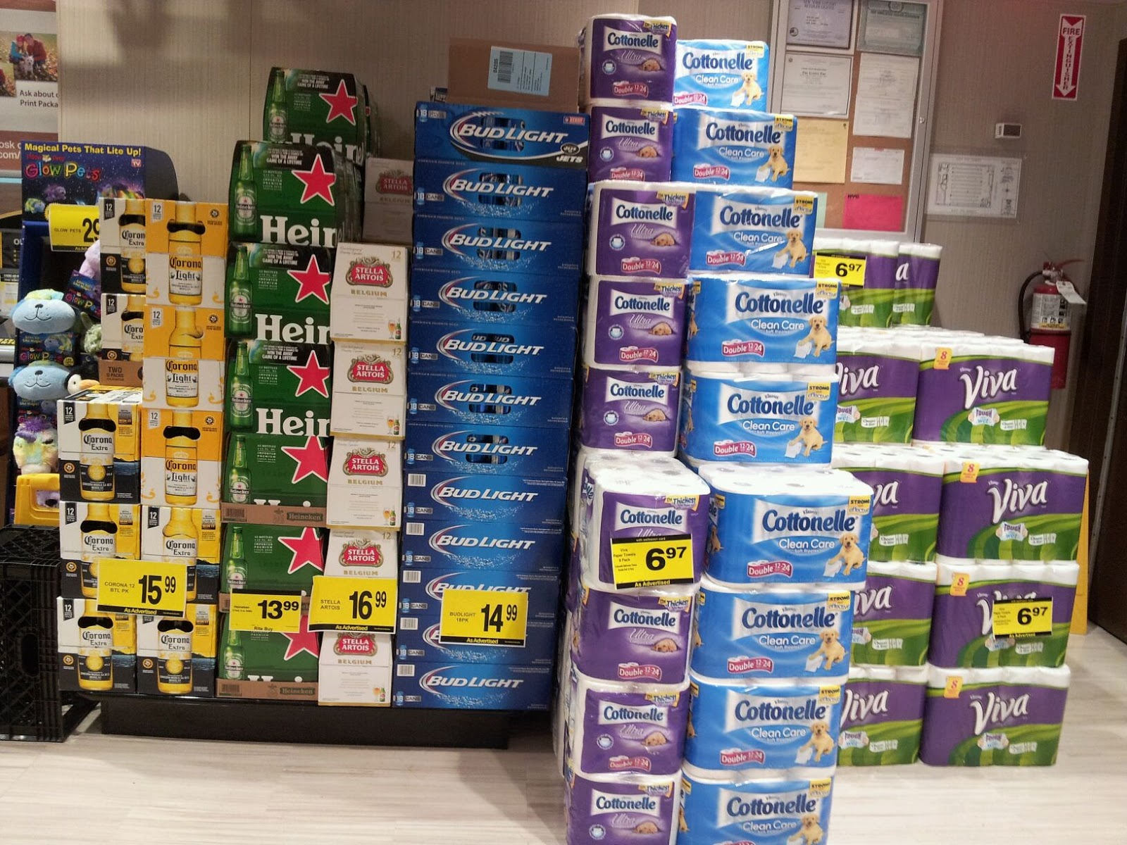 ev grieve rite aid replaces photo department with beer toilet paper displays. Black Bedroom Furniture Sets. Home Design Ideas